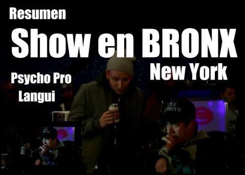 Psycho Pro & El Langui en una actuación sorpresa en el Bronx