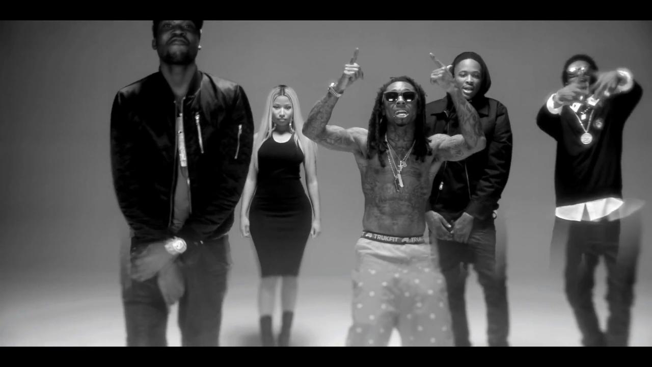 YG Ft Lil Wayne, Rich Homie Quan, Meek Mill & Nicki Minaj- My Nigga (Remix) (Subtítulos Español)