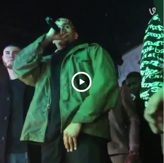 Tiroteo en pleno concierto de Chris Brown