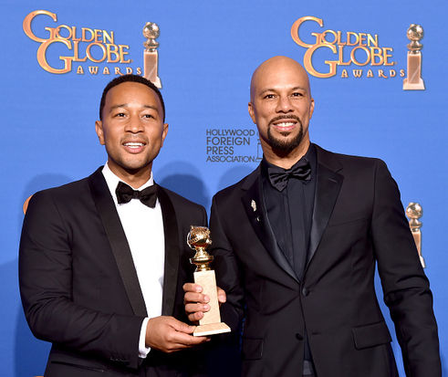 Common & John Legend ganadores de un «Golden Globe Award»