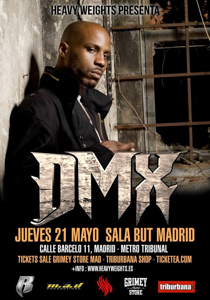 DMX de concierto en Madrid