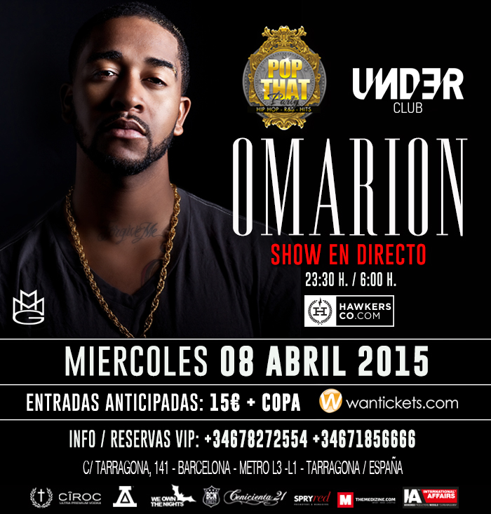 Omarion en directo en Barcelona