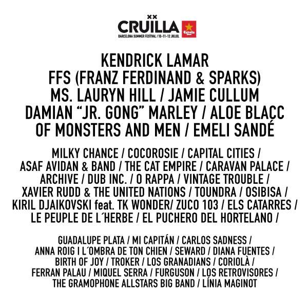 Cruilla Festival 2015