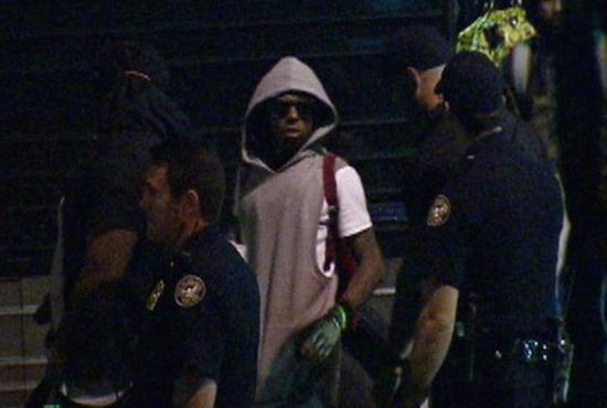 Disparan contra el autobús de Lil Wayne