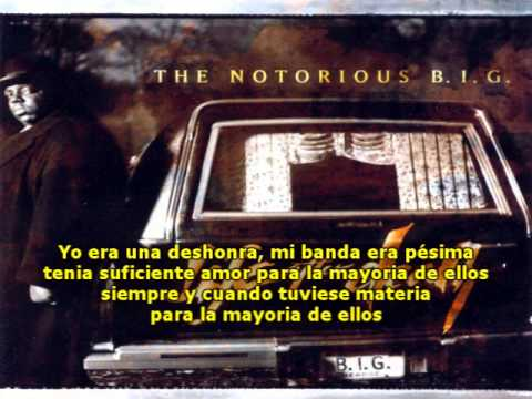 The Notorious B.I.G – Sky´s The Limit (Subtítulos Español)