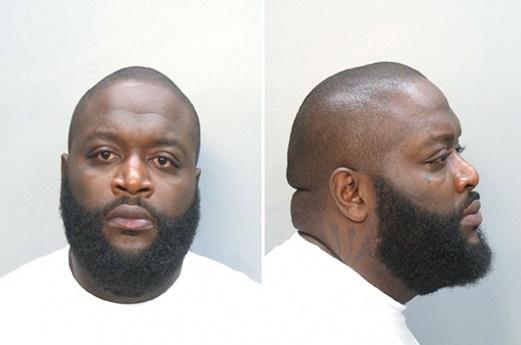 Rick Ross detenido junto a su guardaespaldas