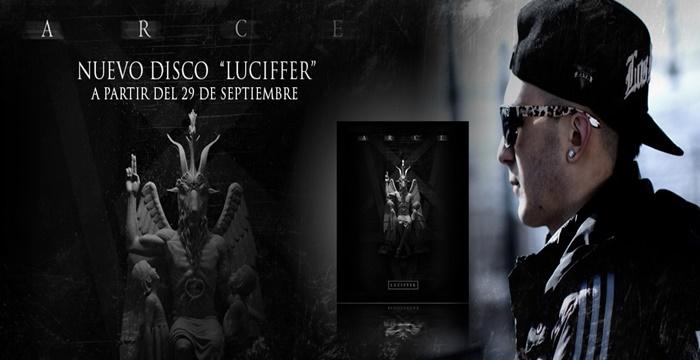 Reserva el nuevo disco de Arce «Luciffer»