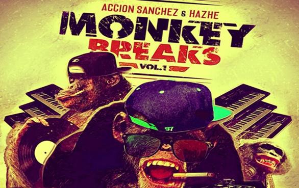 """Acción Sanchez & Hazhe presentan el vinilo de batalla """"Monkey Breaks Vol.1"""""""