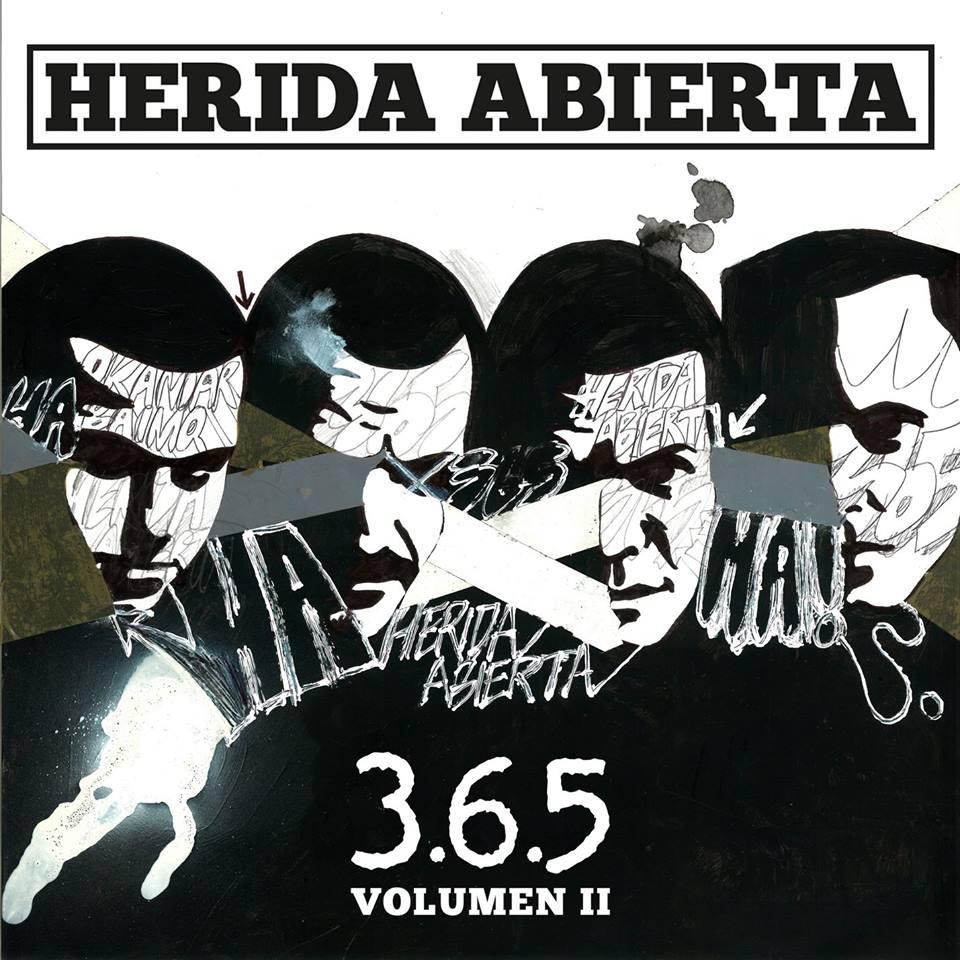 Herida Abierta lanza nuevo álbum 365 Volumen 2