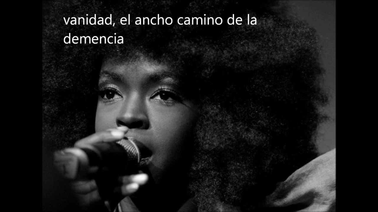 Lauryn Hill – War in the Mind (Sub. Español)