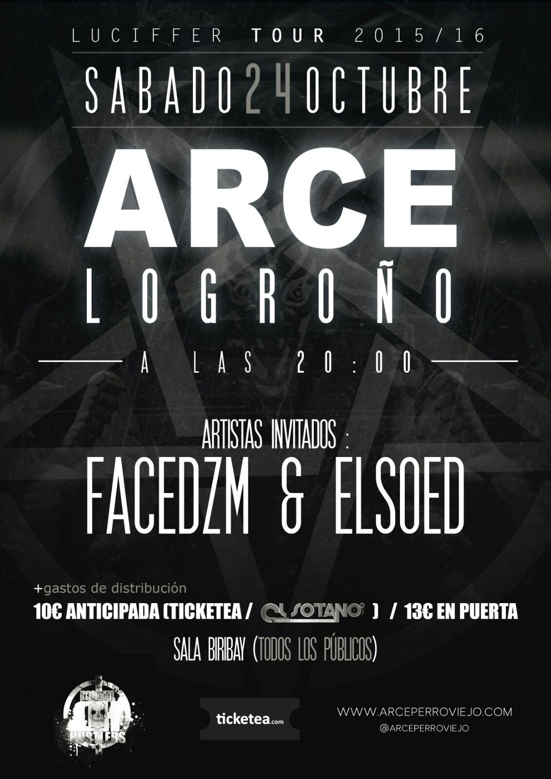 Arce empieza su gira en Logroño