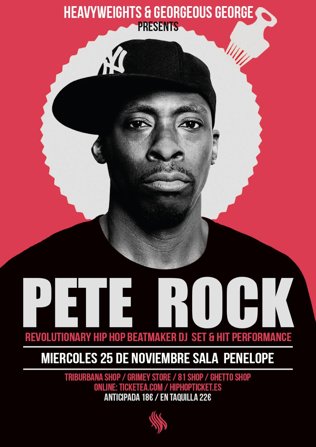 Pete Rock por primera vez en Madrid