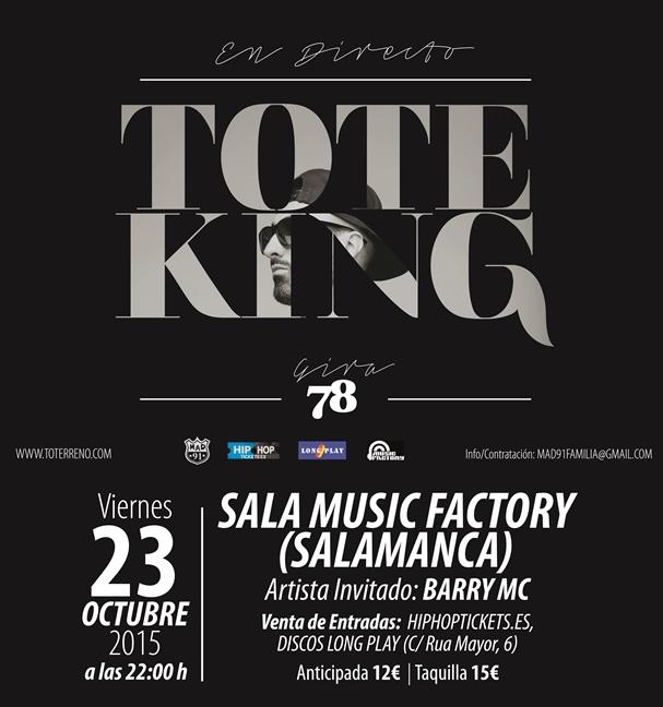 Tote King en Salamanca
