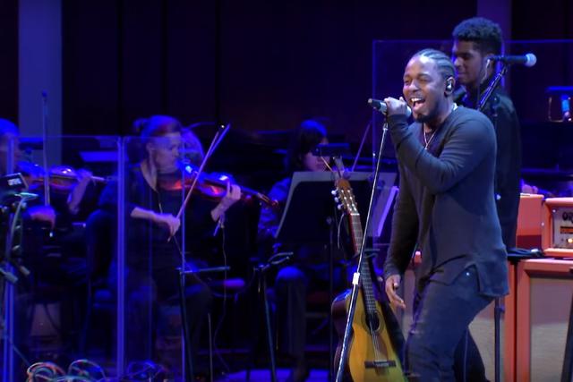 Escucha a Kendrick Lamar con la orquesta sinfónica nacional