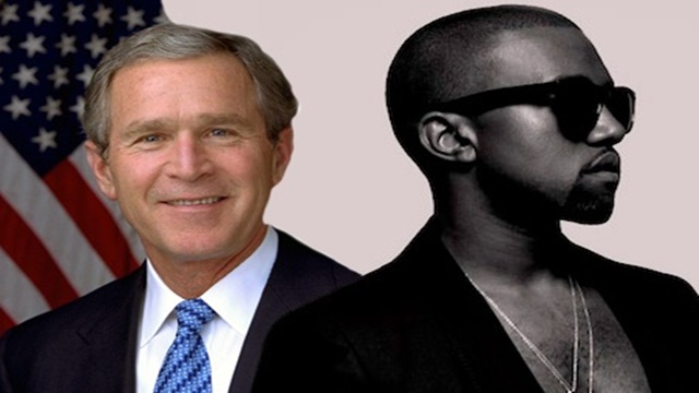 Bush se ríe de Kanye West