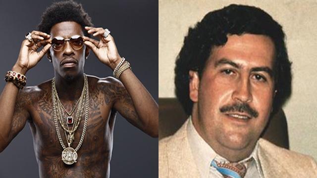 Rich Homie Quan se tatúa a Pablo Escobar