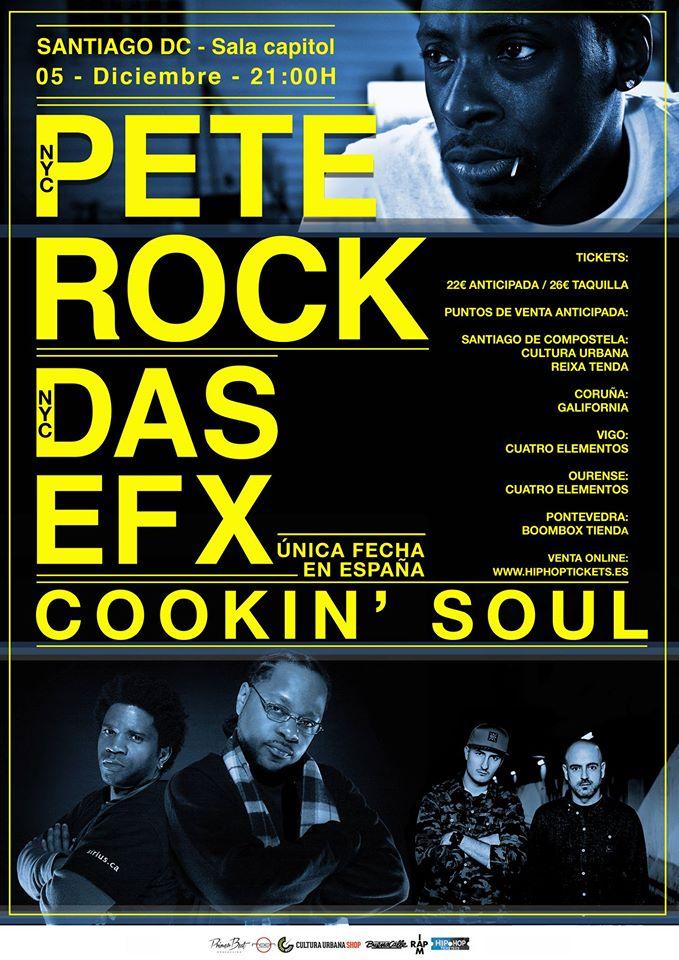 Pete Rock y Das Efx en Santiago de Compostela