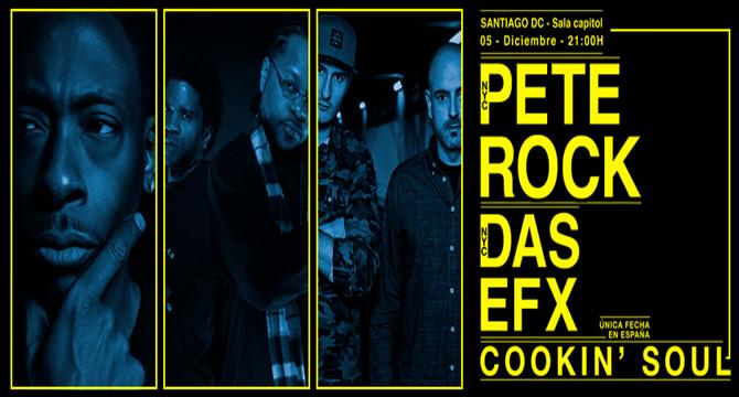 Sorteamos una entrada para Pete Rock en Santiago De Compostela