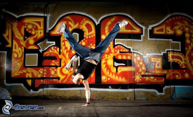 El graffiti y el breakdance también es arte