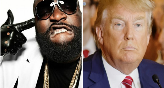 Rick Ross quiere asesinar a Donald Trump