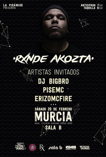 Rxnde Akozta en Murcia