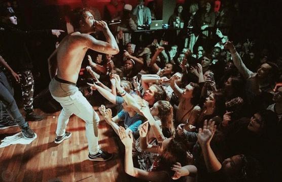 Batalla campal en un concierto de rap en New York
