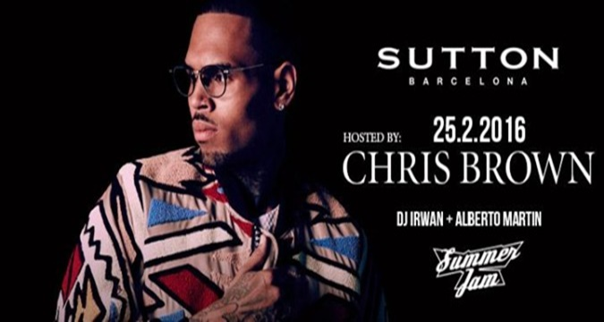 Chris Brown estará en Barcelona