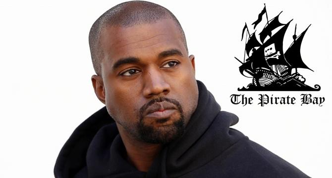 ¿Kanye West descarga música ilegalmente?