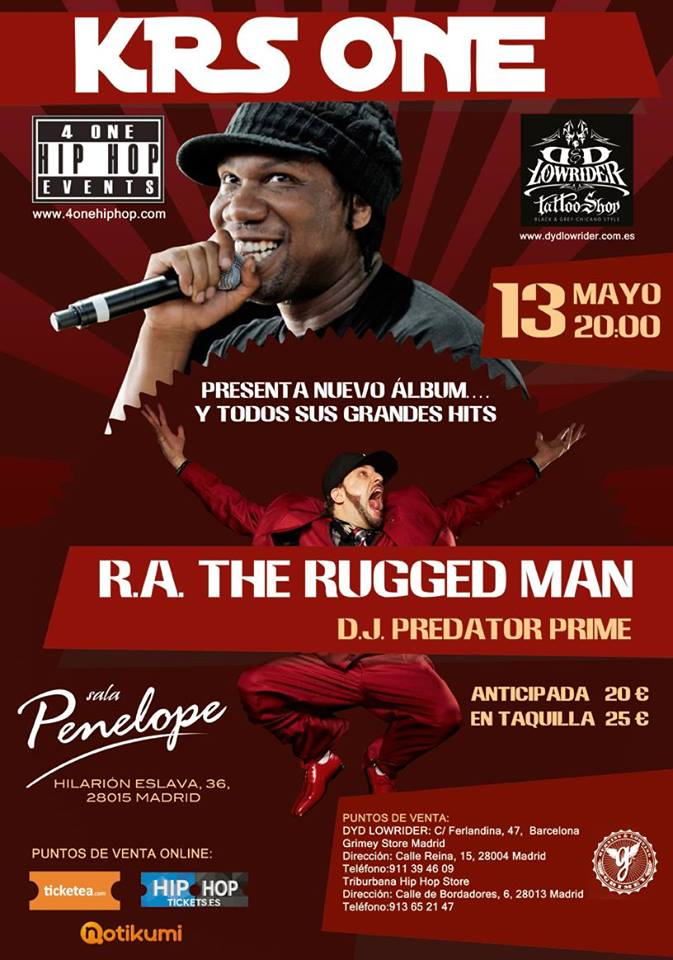 KRS One en Madrid