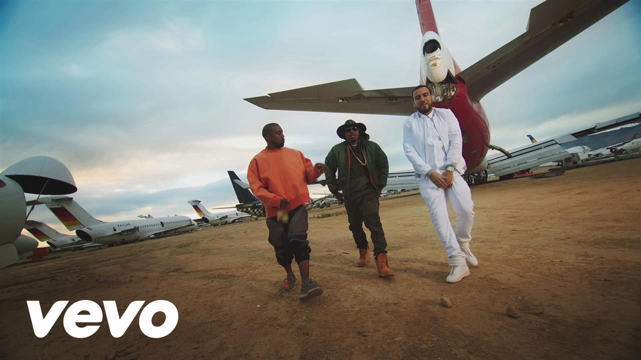 French Montana Ft Kanye West & Nas – Figure it Out