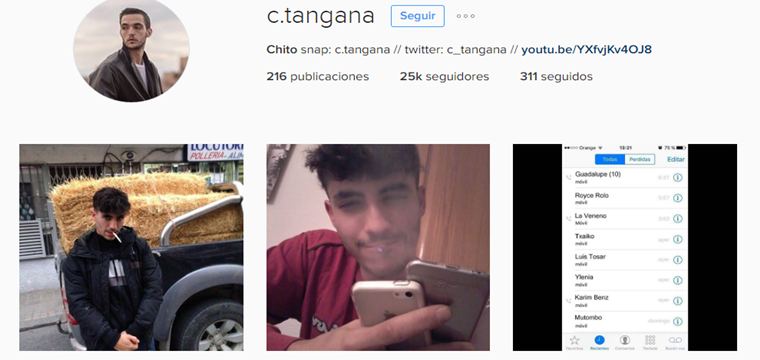Le hackean la cuenta de Instagram a C.Tangana ¿Verdad o Publicidad?