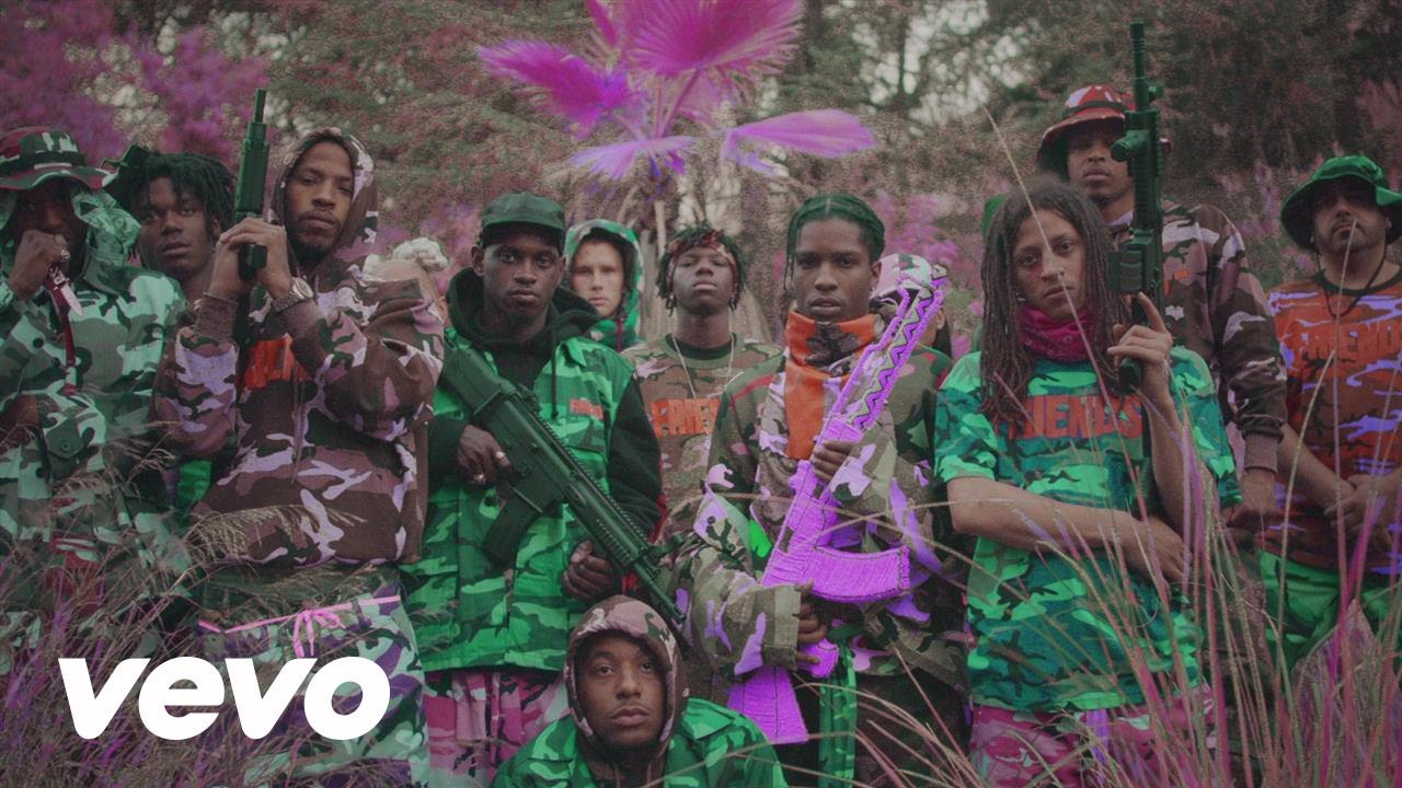 A$AP Mob Ft Juicy J – Yamborghini High