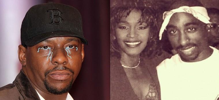 Bobby Brown dice que 2Pac y Withney Houston estuvieron liados