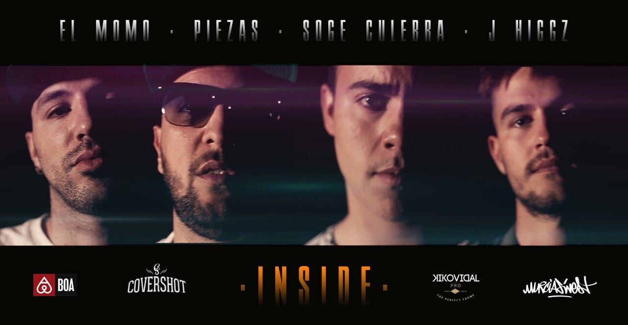Piezas & Jayder Ft El Momo, J.Higgz y Soge Culebra – Inside