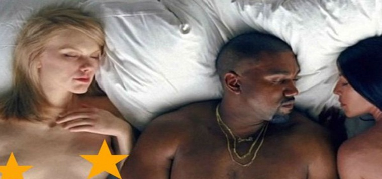 Donald Trump, Rihanna y Taylor Swift desnudos, en el nuevo vídeo de Kanye West