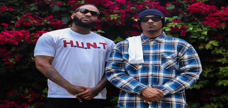 The Game y Snoop Dogg organizan una manifestación delante del cuartel de la policía