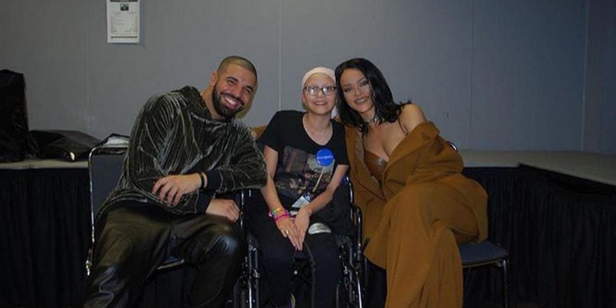 Rihanna y Drake de dedican estas bonitas palabras a una fan