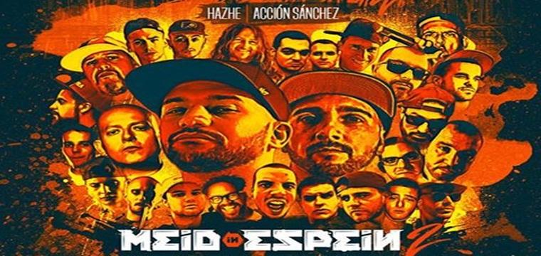 """Hazhe y Acción Sánchez presentan la portada de """"Meid In Espein 2"""""""