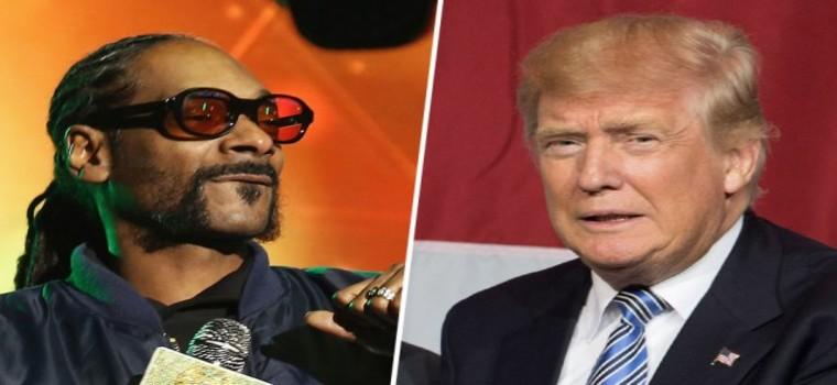 Snoop Dogg critíca a Trump y apoya la candidatura de Kanye West para el 2020