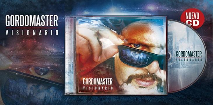 Ya podéis escuchar «Visionario», el nuevo disco de Gordo Master