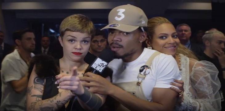 """Chance The Rapper """"flipa"""" con Beyoncé durante una entrevista"""