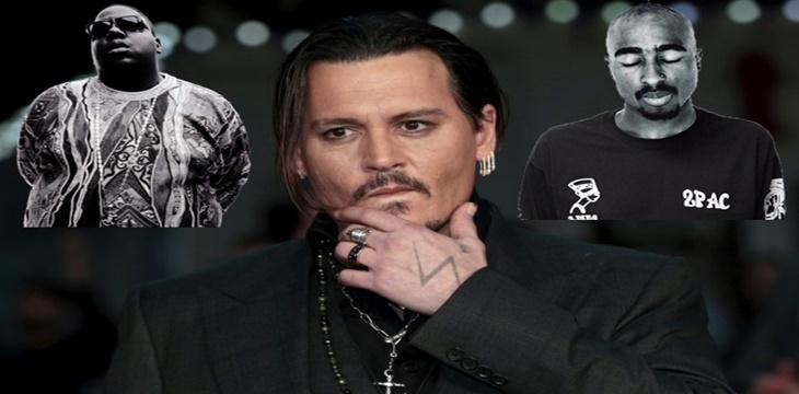 Johnny Depp descubrirá quién mató a Notorious y Tupac