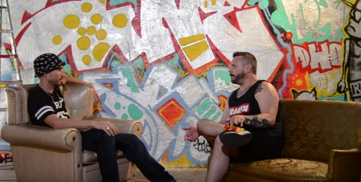Locus muestra su parte más personal en el programa «Todomenosrap»