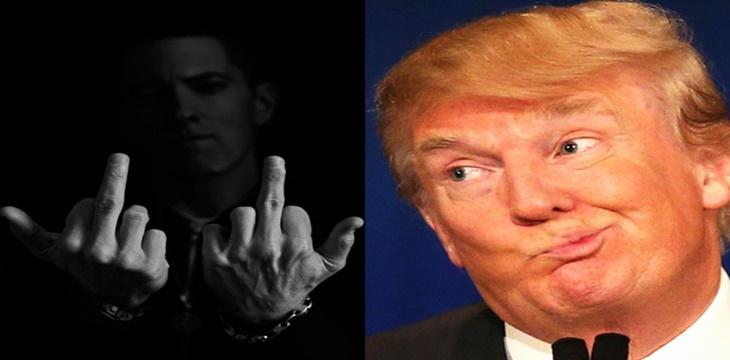Eminem lanza una canción atacando a Donald Trump