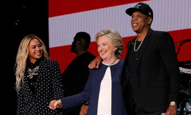 Beyoncé y Jay Z apoyan a Hilary Clinton con un concierto