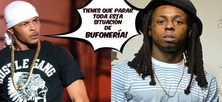 Comunicado de T.I. a Lil Wayne: «¡Deja de ponerte en ridículo!»