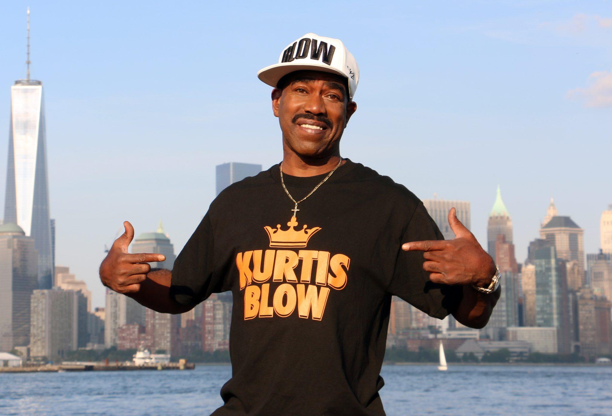 Kurtis Blow sufre un ataque al corazón y un policía le salva la vida
