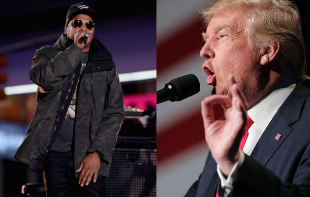 Donald Trump critica a Jay Z por tener un lenguaje inapropiado