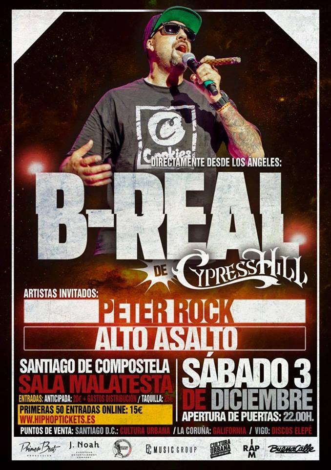 B-Real regresa a Galicia