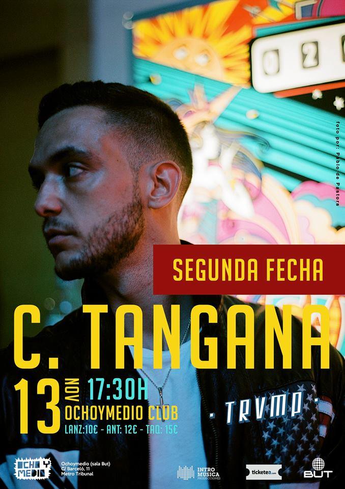 C.Tangana de concierto en Madrid